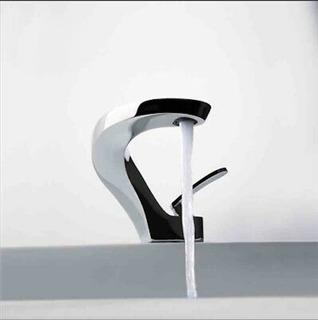 Grifo, Llave Moderna Elegante Acabado En Cromo Italiana