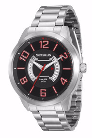 Relógio De Pulso Masculino Seculus 20325g0svna1