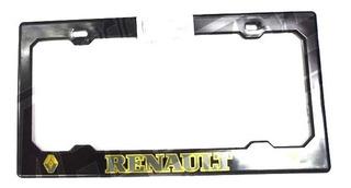 Porta Placa Plastico Renault