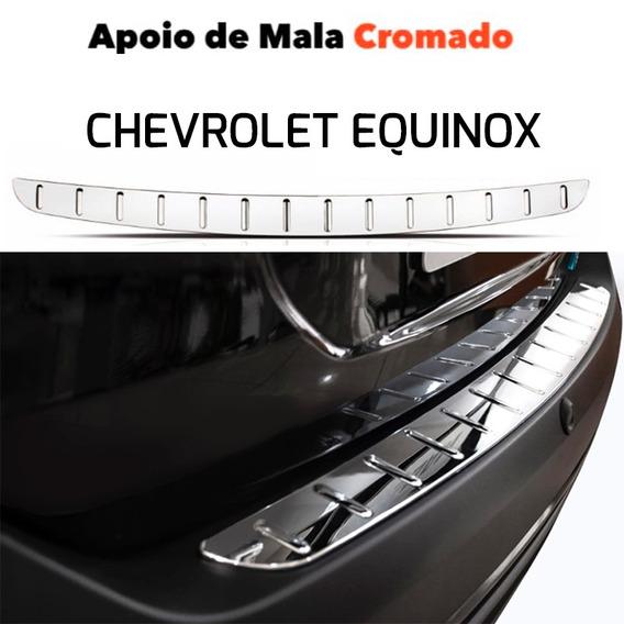 Protetor Cromado De Porta Malas Para Chevrolet Equinox