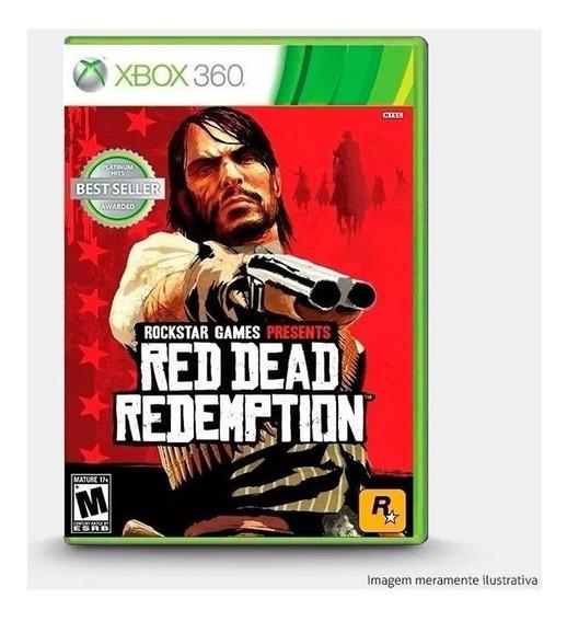Jogo Red Dead Redemption Xbox 360 Seminovo C/ Garantia