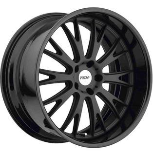 Rin 19x8 5-100 Tsw Mod: Monaco Et35 Cb72.1 Mb / Gloss Black