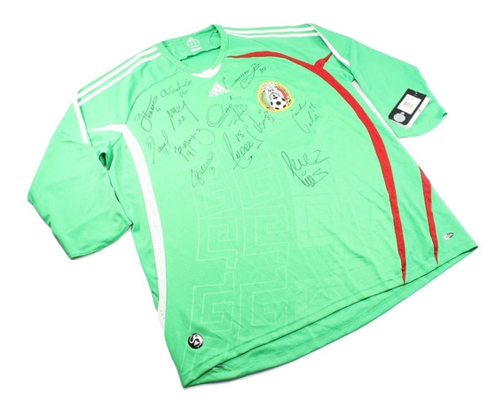 Playera Jersey adidas Original Autografiada Seleccion 2007