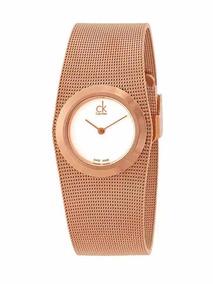 2c6fa86afe35 Reloj Calvin Klein Para Mujer En Rosa - Relojes en Mercado Libre México