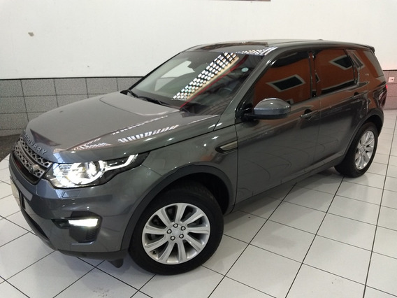 Land Rover Discovery Sport Se Blind 2016 Cinza 7 Lug Top