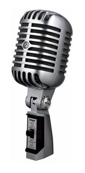 Microfone Shure 55sh Series Ii Vintage Dinâmico Promoção Top