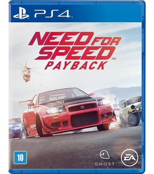 Need For Speed Payback Playstation 4 Ps4 Física Português