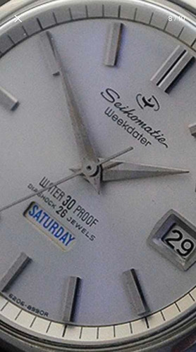 Relogio Seiko Automatico Weekdater Seikomatic