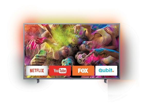 Smart Led 4k Ultradelgado Tv 65 Philips Mod. 65pug6703/77