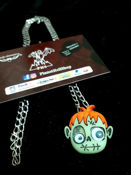 Collar Zombie Monster - Planet Hell Shop