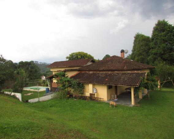 Juquitiba/sitio Com Casa/piscina/lago/lazer/morar/ref:04557