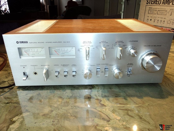 Amplificador Integrado Yamaha Ca 810, Denon, Polyvox, Jbl