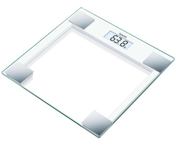 Bascula Digital Personal Vidrio De Seguridad Fitness 150 Kg
