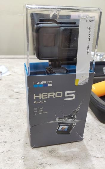 Gopro Hero 5 Black + Bolsa Acessórios + Suporte