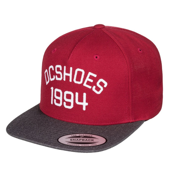 Gorra Snapback Cap Dc Fellis (red White)