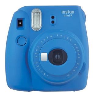 Cámara Instax Mini 9 Color Azul Cobalto