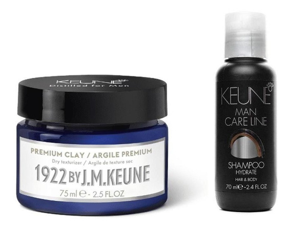 Kit Keune Premium Clay + Hydrate Shampoo 70ml