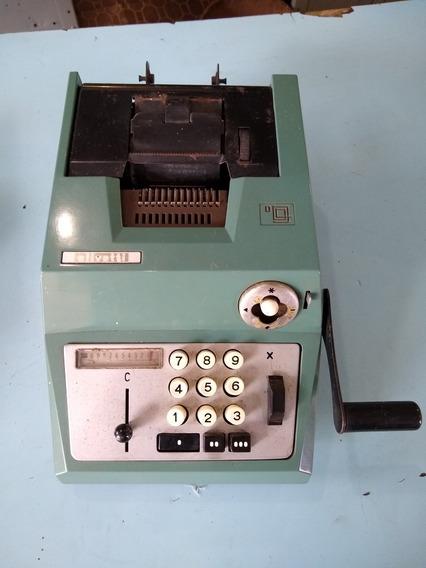 Calculadora Antiga Olivetti Para Colecionador