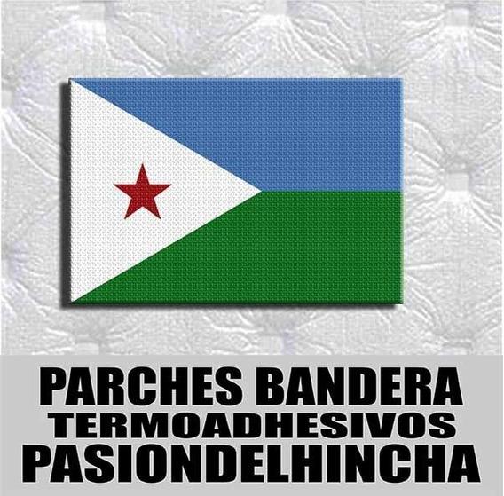 Parche Termoadhesivo Bandera Yibuti