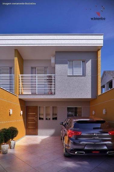 Sobrado Residencial À Venda, Jardim Das Maravilhas, Santo André - So0355. - So0355