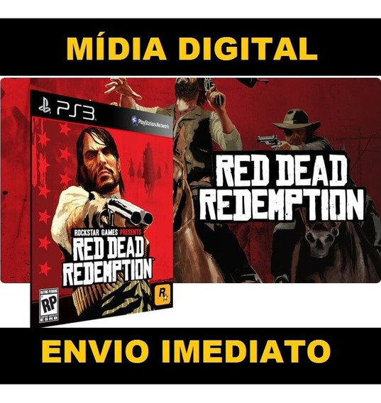 Jogo Red Dead Redemption Ps3 Original Midia Digital Psn