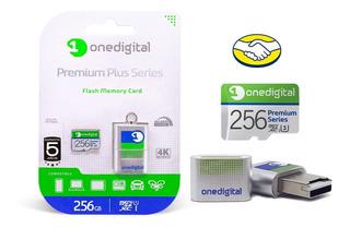 Micro Sd Xc 256gb Onedigital Garantía Extendida A 10 Años