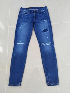 Pantalón Jean A La Moda. Talla 27