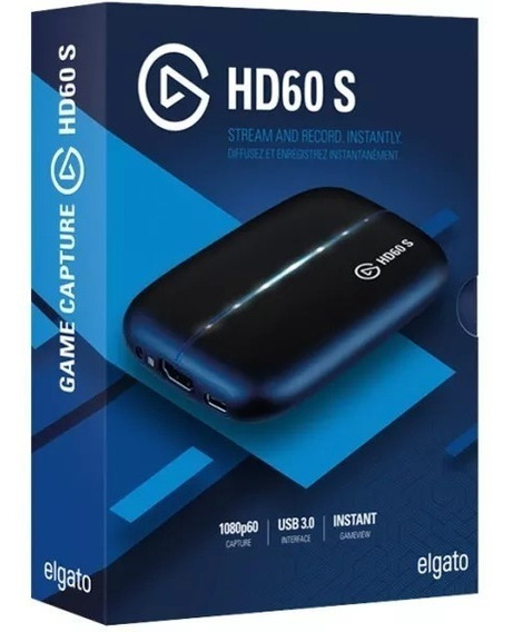 Elgato Game Capture Hd 60s Xbox One Ps4 One Wii Switch 60fps