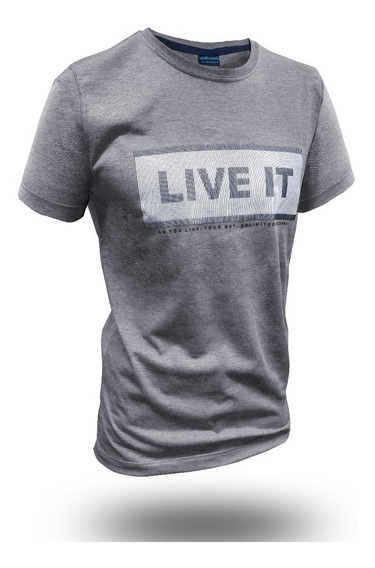 Remera Moda Live It Hot Sale Combo X3 The Uniform Co