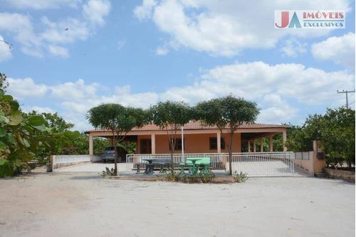 Chácara À Venda, 10000 M² Por R$ 950.000,00 - Zona Rural - Itapipoca/ce - Ch0023