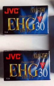 5 Fitas Diversas Lacradas - Vhs - Sony 8 Mm - Vhs-c Jvc