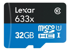 Lexar Profissional Micro Sd Xc 32gb 633x 95mb/s - R$ 149,90!