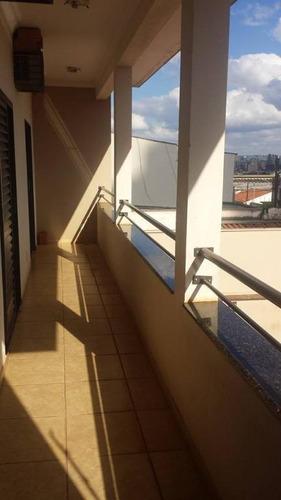 Casa Com 3 Dormitórios À Venda, 240 M² Por R$ 495.000,00 - Ipiranga - Ribeirão Preto/sp - Ca0008