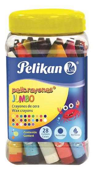 Pelicrayones Jumbo Con 28