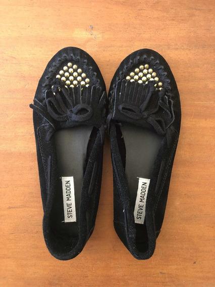 Zapatos Tipo Chatitas / Loafers De Steve Madden Nuevos! (us)