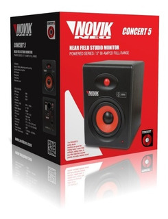 Monitor De Estudio Novik Concert 5 Mkii