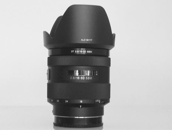 Lente Sony Dt 2.8/16-50 Ssm , Nova Sem Nenhum Arranhão