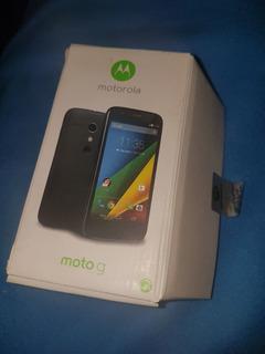 Motorola Moto G Caja Vacia Y Funda