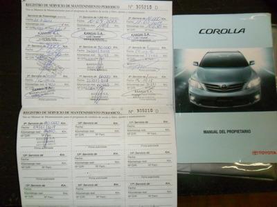 Toyota Corolla 1.8 Xei Mt Pack 136cv - 2013