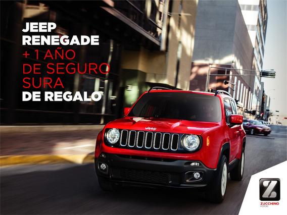 Jeep Renegade 1.8 Sport Manual + Seguro De Regalo | Zucchino