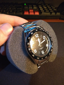 Relógio Masculino Curren Analógico Casual Prata 8107