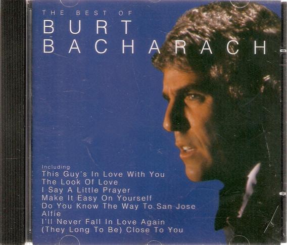 Cd Burt Bacharach - The Best Of - Novo***