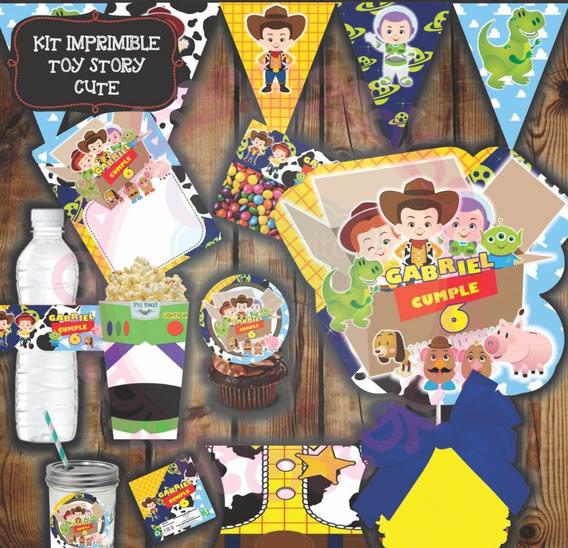 Kit Imprimible De Toy Story Cute Para Fiesta Infantil