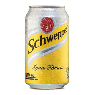 Agua Tonica Schweppes Lata 354ml Pack X6 Original Bebidas 6u
