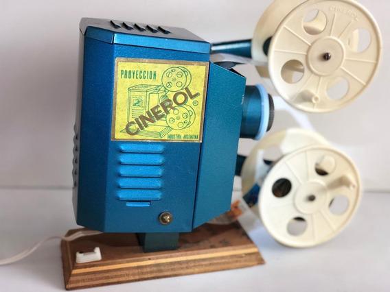 Cinerol Proyector Con Películas De Los 80