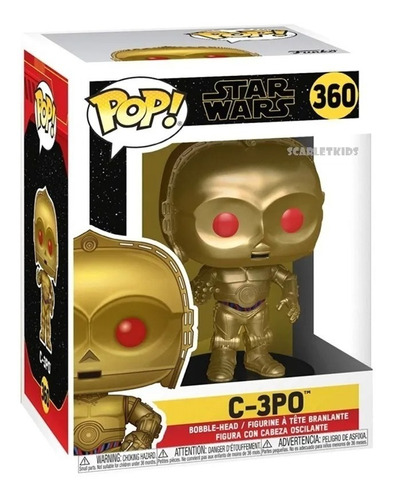 Funko Pop Star Wars C-3po 360  Magic4ever