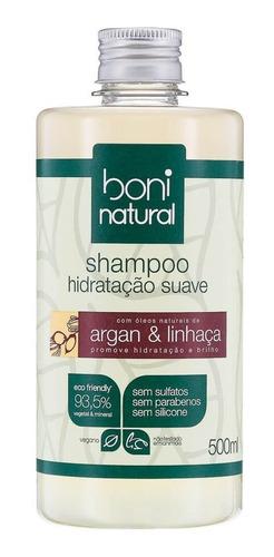 Shampoo Suave Argan E Linhaça 500ml