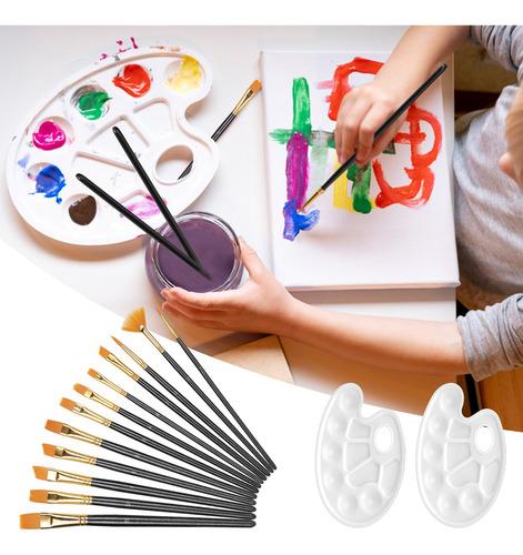 Pinceles Para Niños Pinceles Pinceles De Pintura Al Óleo Pin
