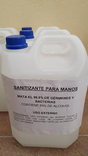 Alcohol En Gel Neuto Al 60% Sanitizante De Manos Solo 5l