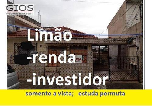 Casa À Venda, 260 M² Por R$ 375.000,00 - Limão (zona Norte) - São Paulo/sp - Ca0119